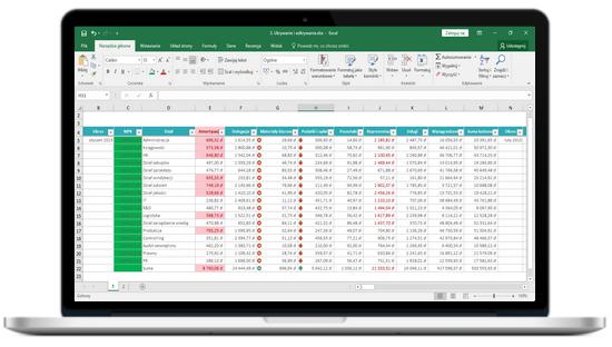 kurs z Excela analiza danych