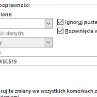 Edycja elementów listy rozwijanej